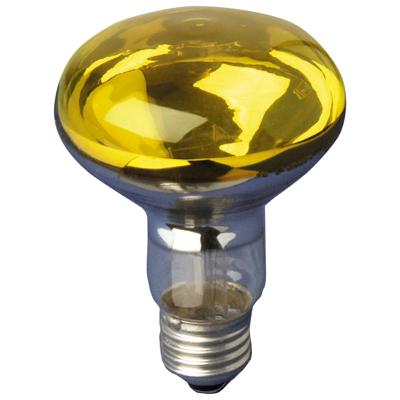 Yellow R080 Reflector Lamp